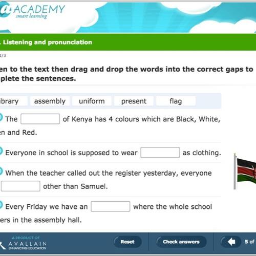 Digital Learning - Avallain - a-Academy programme voice sample 2