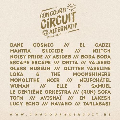 Eliminatoires Concours Circuit 2016