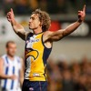 Eagles Star Midfielder Matt Priddis - In Adelaide To Face The Crows