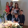 Guests at a christening in Westmeath got a BIG surprise when a bride walked down the aisle