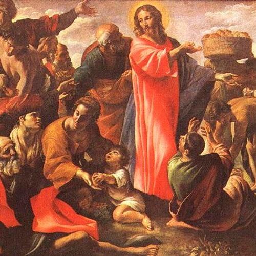 4. Fastensonntag Laetare: Jo 6, 1-15: Das Wunder der Brotvermehrung.