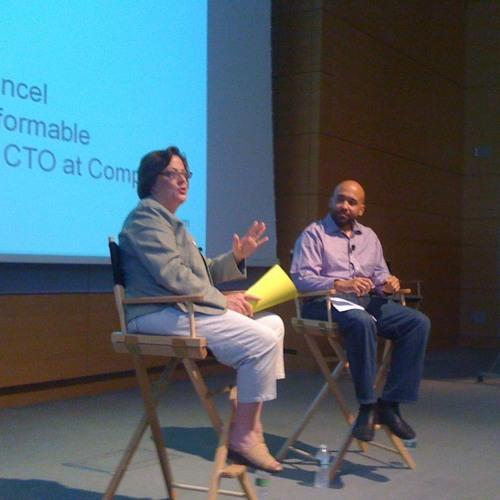 David Cancel talks with Constant Contact CEO, Gail Goodman