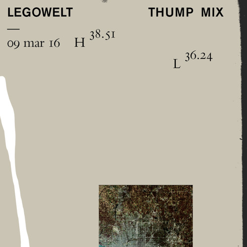 Legowelt DJ Mix For Thump Mag