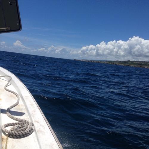 Boatside seawater