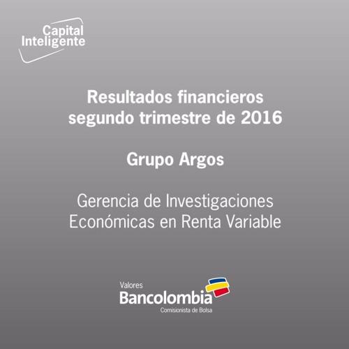Resultados financieros del segundo trimestre de 2016