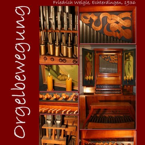 12 Orgelbewegung Erhard Anger Orgelmusik 1965