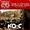 Time4Trance #027 26-08-2016 live guestmix KO-C