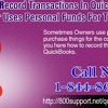 How to record transactions in QuickBooks if the owner uses personal funds for the company