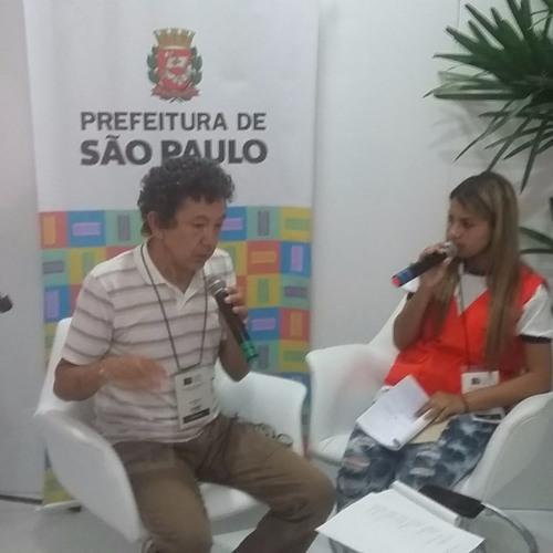 Imprensa Jovem entrevista  o professor e escritor José Soares  na Bienal Internacional do Livro