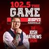 Jon Burton, NewsChannel 5 on the Josh Mathews Show 8-28-16