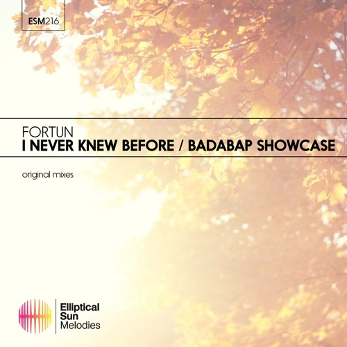 Fortun - I Never Knew Before / Badabap Showcase EP [ OUT NOW ]