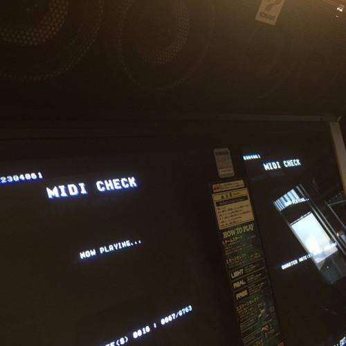 Keyboardmania 2nd Mix Arcade Midi Test