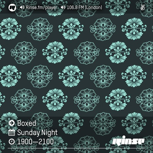 Rinse FM Podcast - Boxed w/ Oil Gang & Logos - 28th August 2016