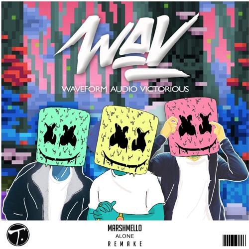 Marshmello - Alone (WAV REMAKE) by Waveform Audio Victorious