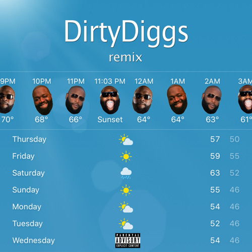 Rick Ross - The Weather (DirtyDiggs rmx)