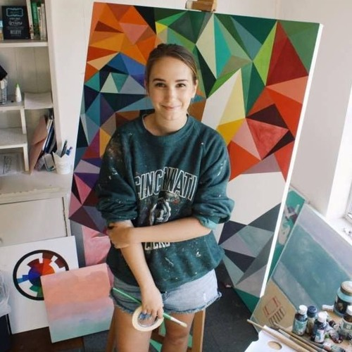 Natalie Verriest On Young@Art With Jessica Gledhill - Broadcast On Coast Arts 31.7.16