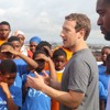 "Facebook's Zuckerberg meets the ""real people"" of Lagos"