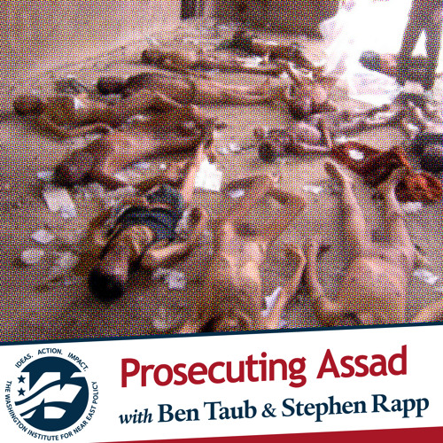 Prosecuting Assad with Ben Taub and Stephen J. Rapp