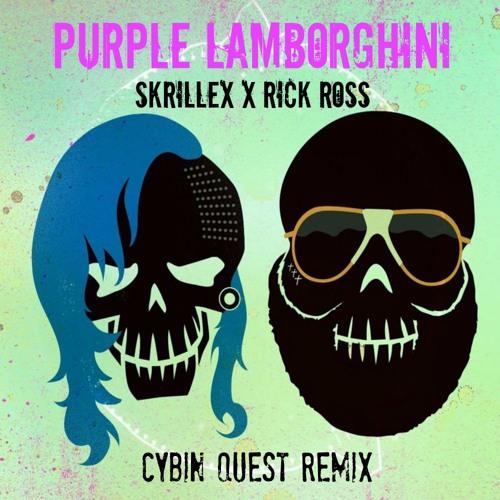 Skrillex Rick Ross Purple Lamborghini Cybin Quest Remix By