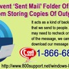 How To Prevent 'Sent Mail' Folder Of Your Email Account From Storing Copies Of Outgoing Mails