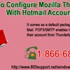 Steps to configure Mozilla Thunderbird with Hotmail account