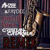Ahzee & Faydee - Burn It Down (Cristian Carmona Remix) [Supported by Ahzee]