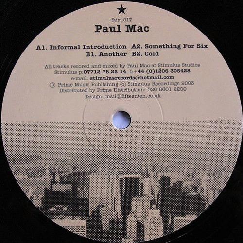 Paul Mac - Informal Introduction