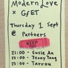 Tarrou @ Gfet X Modern Love, Partners, 1 September 2016