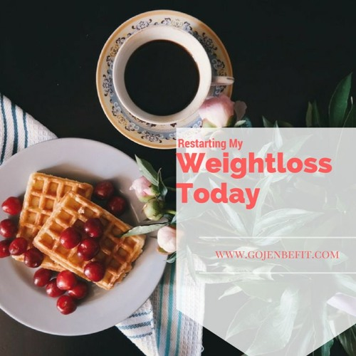 Re-starting my Weightloss Journey
