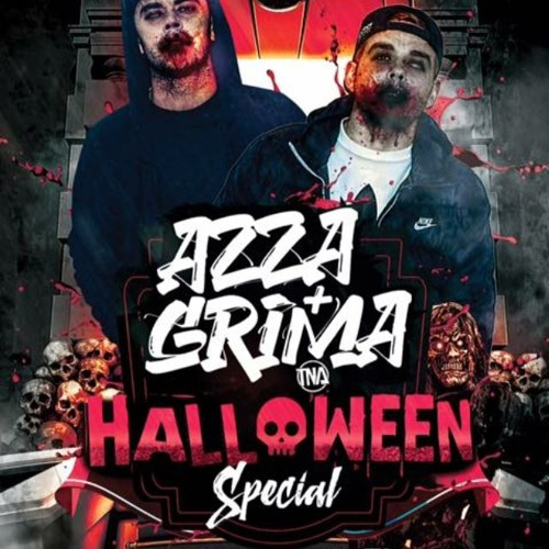 AZZA & GRIMA Halloween Special By Dj Cruse Control