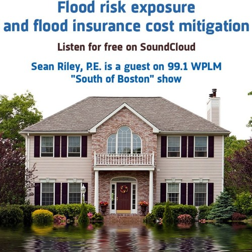 99.1 WPLM South of Boston Show: Pat Caroll And Sean Riley On Flood Insurance