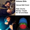 Volcano Girls – Veruca Salt Cover, feat. Midipunk on Drums and Stonecatcherye on Vocals