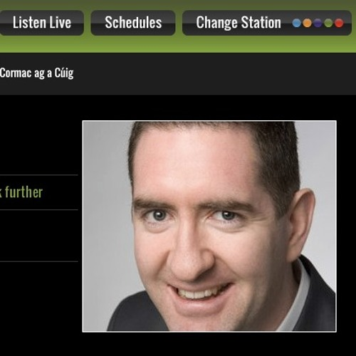 Cormac ag a Cuig about Pádraig Schaler and Rehab4Ireland (06 Sep 2016)