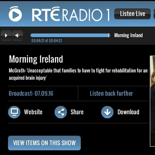 Ireland's Minister for Disability Finian McGrath TD Supporting An Saol on RTÉ One(07 Sep 16)