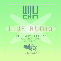 Live Audio - No Apology - Dallas, TX [March 2016]