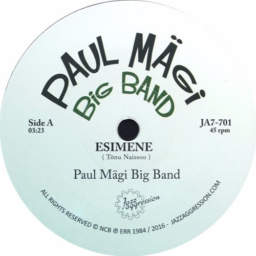 Paul Mägi Big Band  'Tuulte Tants' - New jazzaggression single out now!