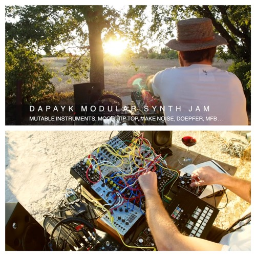 "Dapayk Solo ""Modular Synth Jam Nerdsession Provence"" (Video at Youtube)"