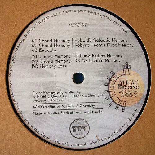 Chord Memory (CCO's Echoic Memory)