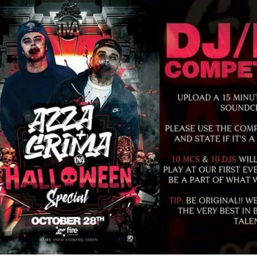 Azza & Grima Halloween Special DJ Entry - UNION