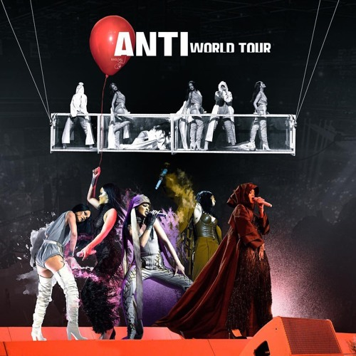 Awe Inspiring Rihanna Birthday Cake Anti World Tour By Rihanna Releases On Funny Birthday Cards Online Fluifree Goldxyz
