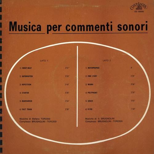 Musica Per Commenti Sonori - Complesso Brugnolini, Torossi
