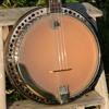 1930s Kay-made KayKraft resonator plectrum banjo