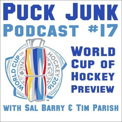 Puck Junk Podcast #17 - 9/12/2016