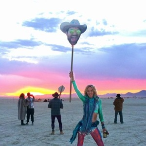 Last Sunset at Burning Man 2016