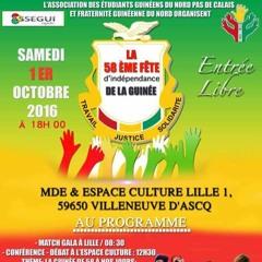 Fete Indépendance 1er Octobre à Lille