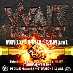 WAR REPORT FEAT RIDDIM FORCE 12.8.16