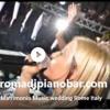 DJ VOCALIST GIANPIERO FATICA VALERIA VOICE Romadjpianobar music services