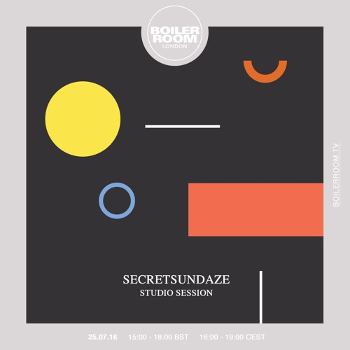 Secretsundaze Boiler Room London Studio DJ Set