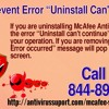 """How To Prevent Error """"Uninstall Can't Continue"""""""