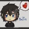 Sprite Warrior - Noctis Theme Final Fantasy XV (Gray Fox Originals)